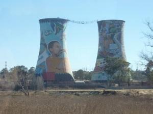 coal stacks