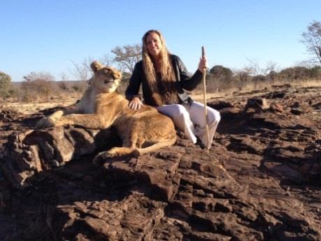 helene and lions